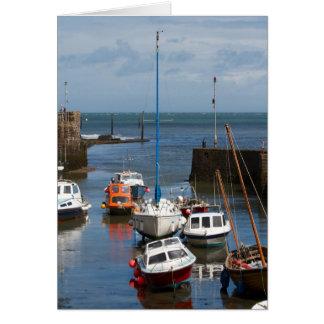 Kort för Lynmouth hamnfartyg
