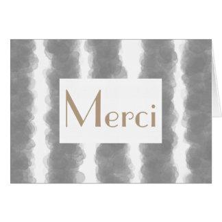 Kort för Merci franskt randtack
