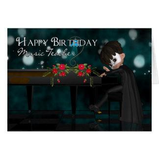 Kort för musiklärarefödelsedag