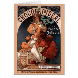 Kort för Nouveau chokladfödelsedag