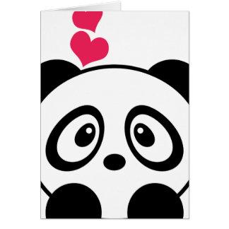 Kort för Pandakärlekhälsning