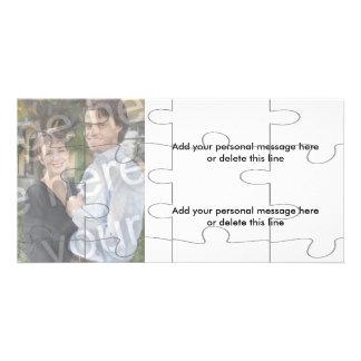 """Kort för pussel för anpassadefoto""""åtlöje"""" - 12 fotokort"""