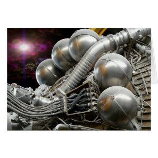 Kort för Saturn V raketmotor