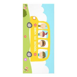 Kort för skolbussback to schoolkugge