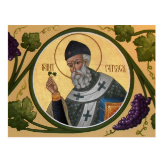 Kort för St Patrick symbolsbön