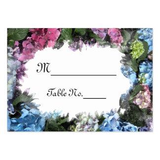Kort för ställe för bröllop för vanlig set av breda visitkort