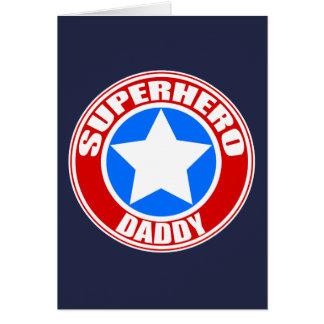 Kort för Superheropappahälsning