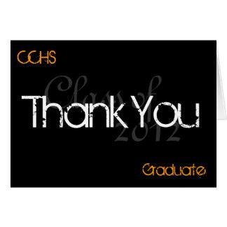 Kort för tack CCHStiger2