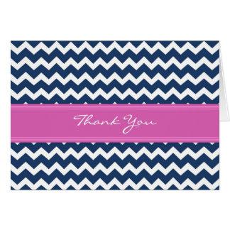 Kort för tack för bröllop för rosablåttsparre