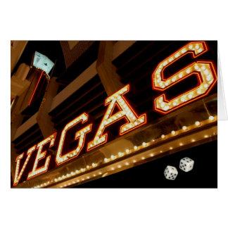 Kort för Vegas spelareroligt