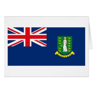 Kort för Virgin Islands flaggahälsning