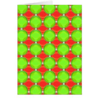 Kort - överlappande 3D knäppas