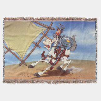 Kort Quixote vid @QUIXOTEdotTV Dekorativ Filt