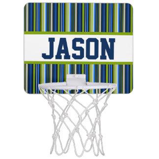 Kortkort-Basket för blåttrandpersonlig mål Mini-Basketkorg