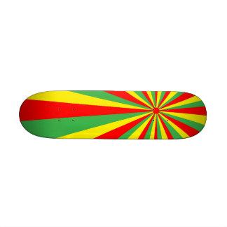Kortkort för Rastafarian virvelSkateboard Skateboard Decks