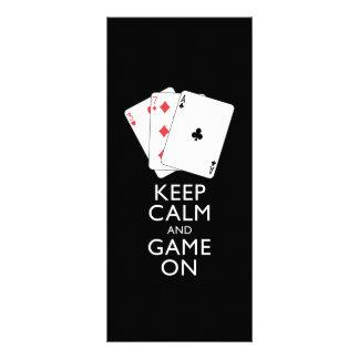 Kortspel för för BEHÅLLALUGN OCH LEK PÅ - Anpassningsbara Rackkort