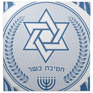 Kosher uppdelning tygservett