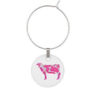 Koshock rosa- och vitSilhouette Vinmarkör