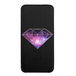 Kosmisk diamant mobil fodral ficka