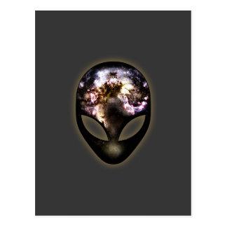 Kosmisk främling vykort