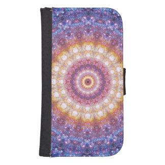 Kosmisk Mandala Plånboksfodral För Samsung Galaxy S4