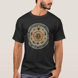Kosmisk rosa Mandala T Shirt