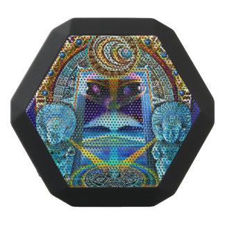 Kosmiskt balansera svart bluetooth högtalare