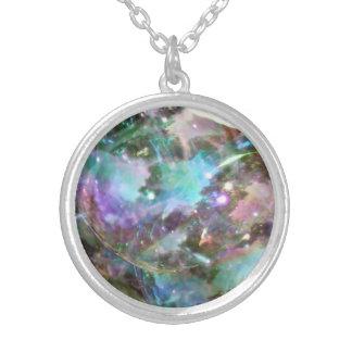 kosmos silverpläterat halsband