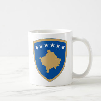 kosovo emblem kaffemugg