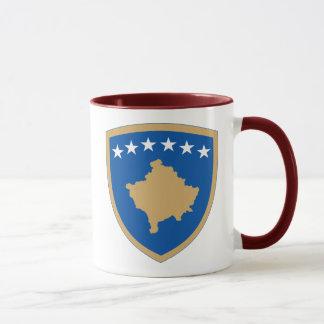 kosovo emblem mugg