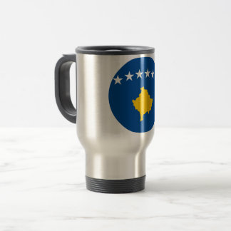 Kosovo flagga resemugg