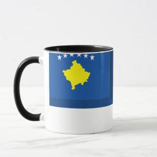 Kosovo flaggajuvel mugg
