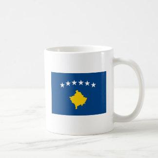 Kosovo flaggamugg kaffemugg