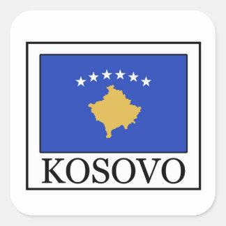 Kosovo Fyrkantigt Klistermärke