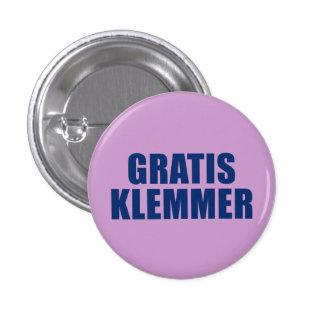 Kostnadsfria Klemmer Mini Knapp Rund 3.2 Cm