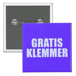 Kostnadsfria Klemmer Standard Kanpp Fyrkantig 5.1 Cm