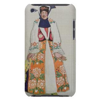 Kostymera designen för en bondaktig kvinna, från iPod touch skydd