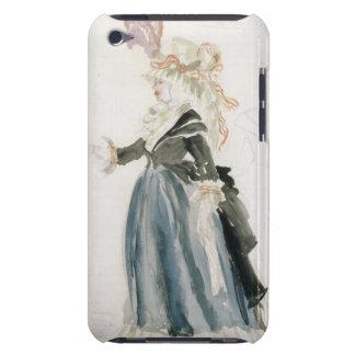 """Kostymera designen för """"Misa Sert"""" som 'la för den Barely There iPod Skyddande Skydd"""