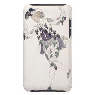 Kostymera designen för paget av den felika lilan, iPod touch cover