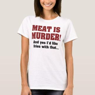 Kött är mord! Och ja skulle jag lika småfiskar med T Shirts