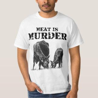 Kött är mord t shirts