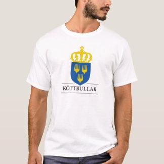 Köttbullar - matt från Sverige T-shirt