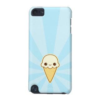 Kotte för Kawaii lycklig vaniljglass iPod Touch 5G Fodral