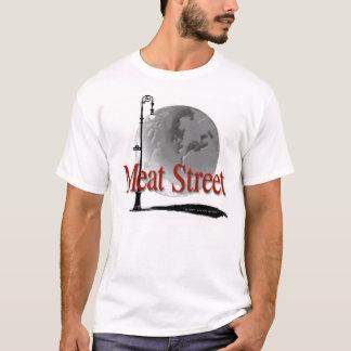Köttgatalogotyp - vitskjorta t-shirts