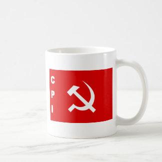 KPI-flagga kommunistparti av Indien Kaffemugg