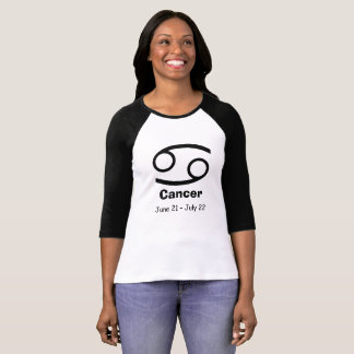 Krabban för cancer för horoskopZodiacastrologi T-shirt