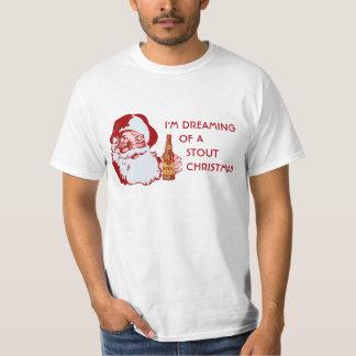 Kraftig öljul för Retro jultomten T Shirts