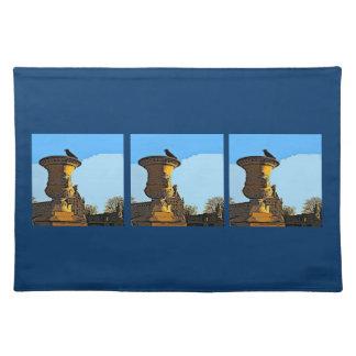 Kråka för Jardin des Tuileries - målning Bordstablett