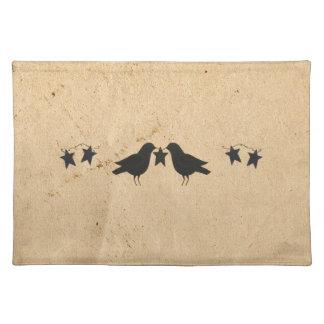 Kråka- och stjärnabordstablett bordstablett