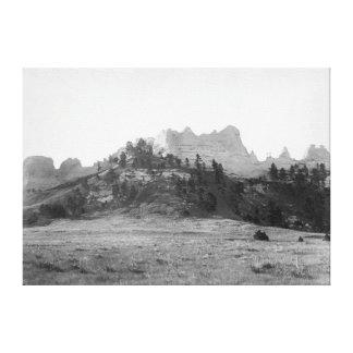 KråkaButte nära Ft. Robinson fotograferar Canvastryck